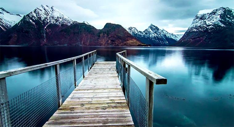 Die Schönheit der norwegischen Fjorde fjordlapse
