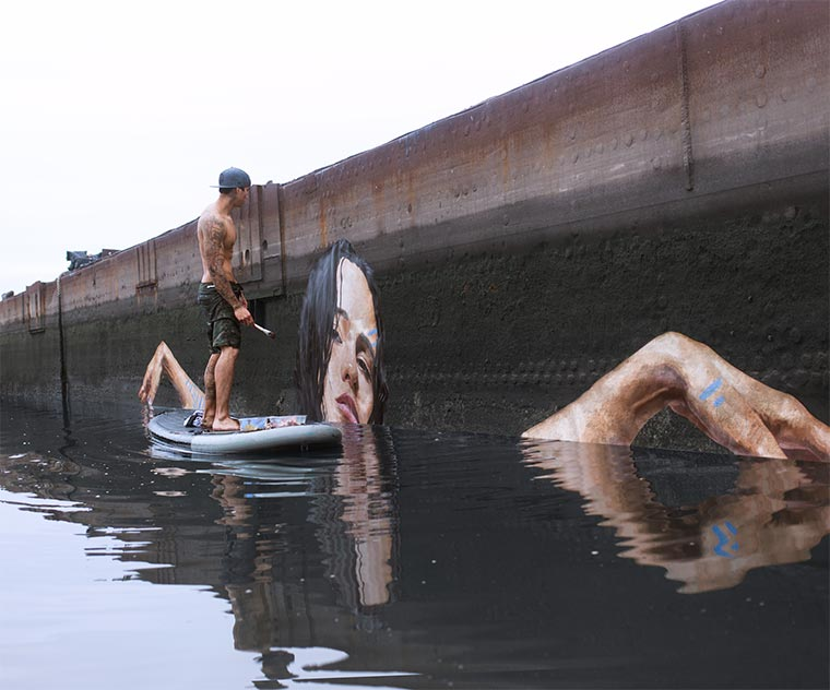 Schönheiten knapp über dem Wasserspiegel hula-water-portraits_02