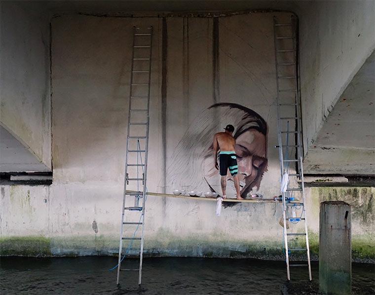 Schönheiten knapp über dem Wasserspiegel hula-water-portraits_03
