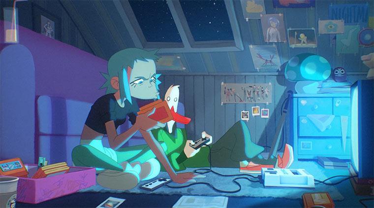 Grandios animierte Videospiel-Hommage