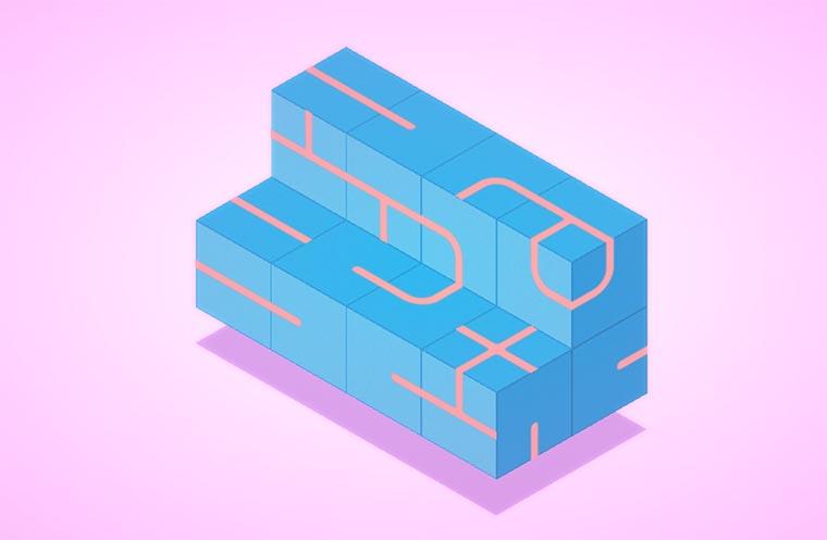 Puzzle-Browserspiel: klocki