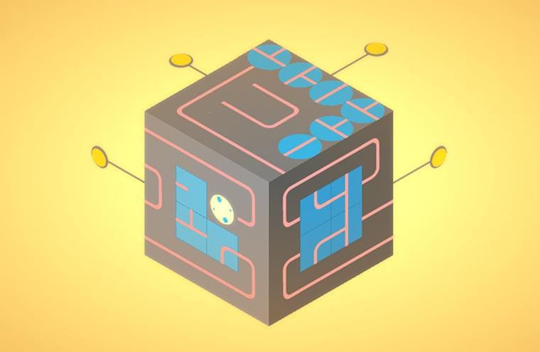 Puzzle-Browserspiel: klocki klocki2