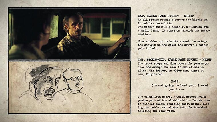 No Country For Old Men: Storyboard vs. Film