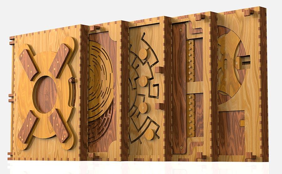 Zum Weiterlesen Holzrätsel lösen Codex-Silenda_05