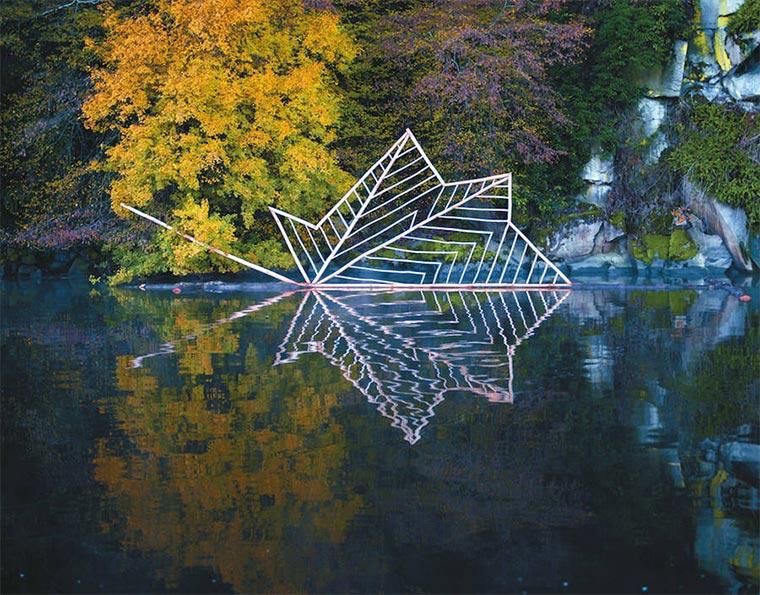 Naturkunst: Nils-Udo Nils-Udo_02