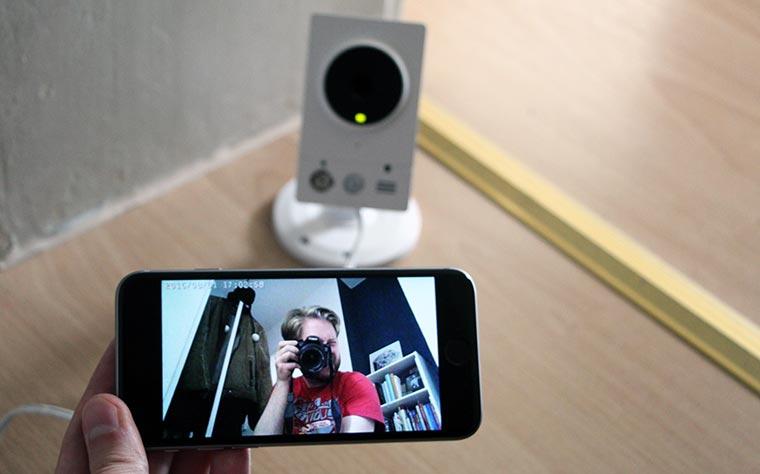 Smart Home-Test 4: Installation des Sicherheitssystems