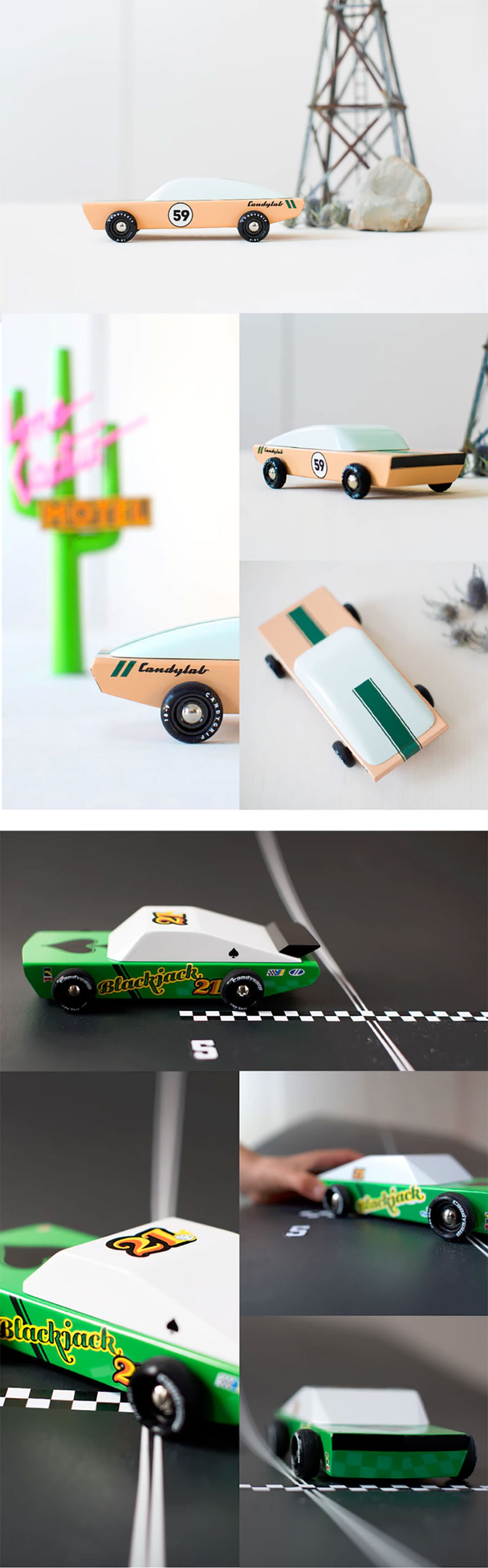 Coole Holz-Spielzeugautos im Retro-Look candyland-wooden-cars_02