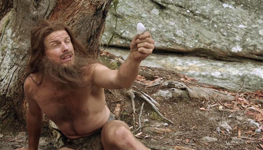 Die Entdeckung des Finanzsystems im Steinzeitalter cavemen-economics