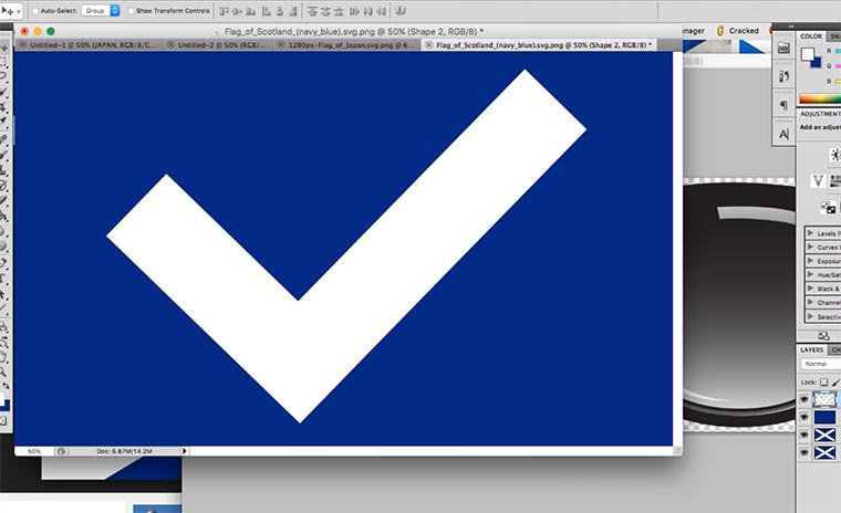 Comedian repariert Flaggen fixing-flags