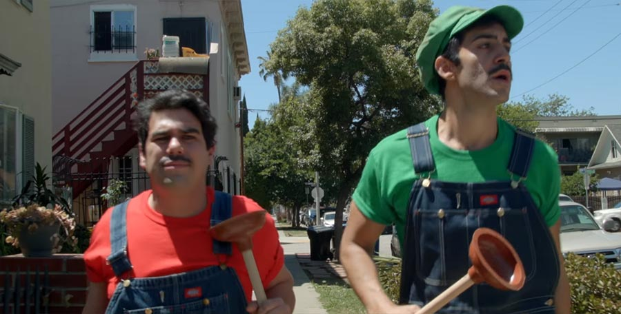 Mashup: Super Mario Bros. x Goodfellas goodplumbas