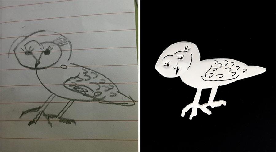 Aus Kinderzeichnungen werden Schmuckstücke kinderzeichnungen-schmuck_05