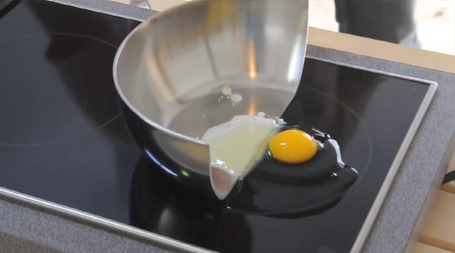 Kochen mit halber Pfanne kochen-mit-halber-pfanne