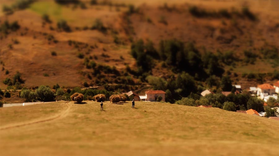 Tilt-Shift: Kosovo Kaleidoscope