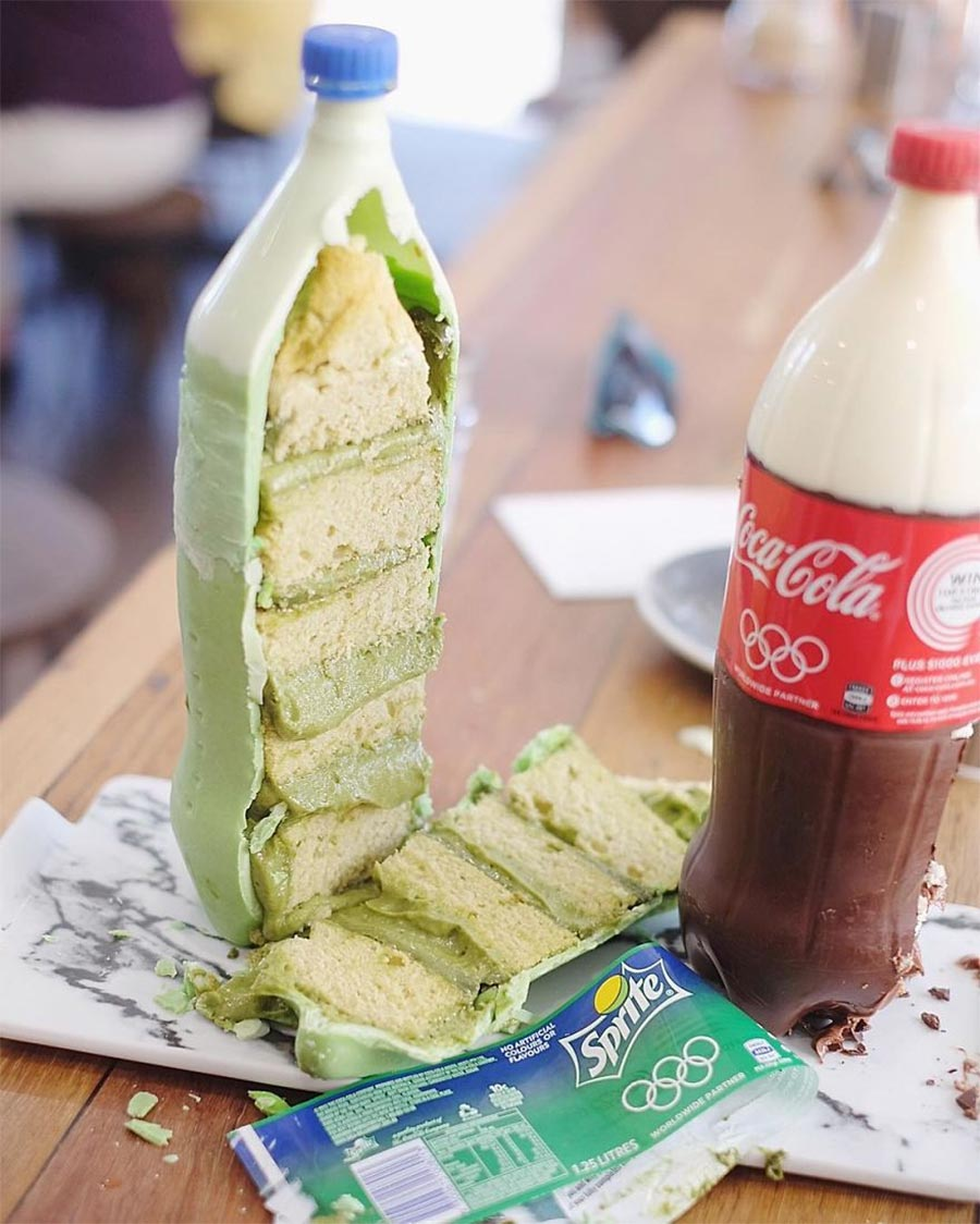 Limo Flaschen Kuchen
