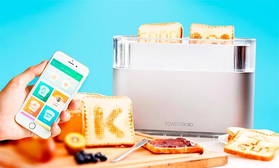 Euer Wunschmotiv ins Brot toasten