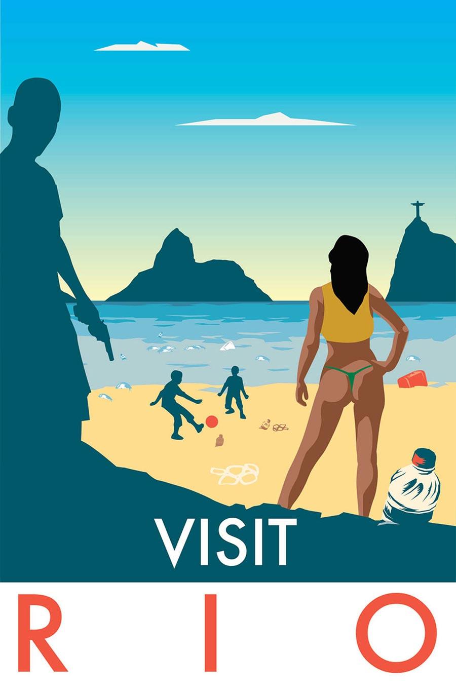 Ehrliche Reise-Destinations-Poster visit-honest-poster_02