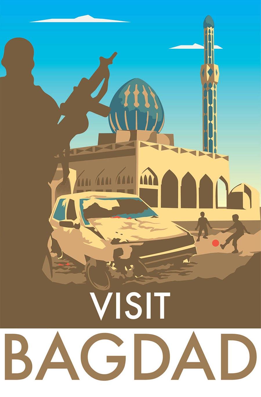 Ehrliche Reise-Destinations-Poster visit-honest-poster_05