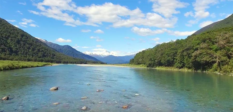 Neuseeland aus der Luft visit-new-zealand