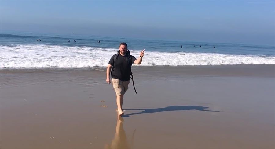 Ben Davis ist 5.000 Kilometer durch die USA gelaufen