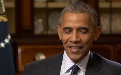 2016er Obama spricht mit seinem 2009er Ich