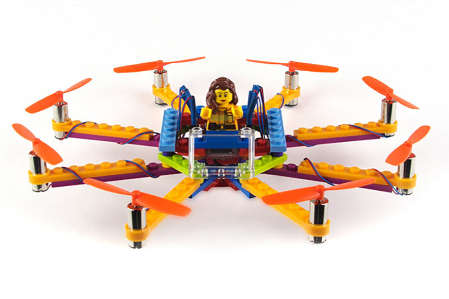 Bau dir deine eigene LEGO-Drohne LEGO-drone-kits