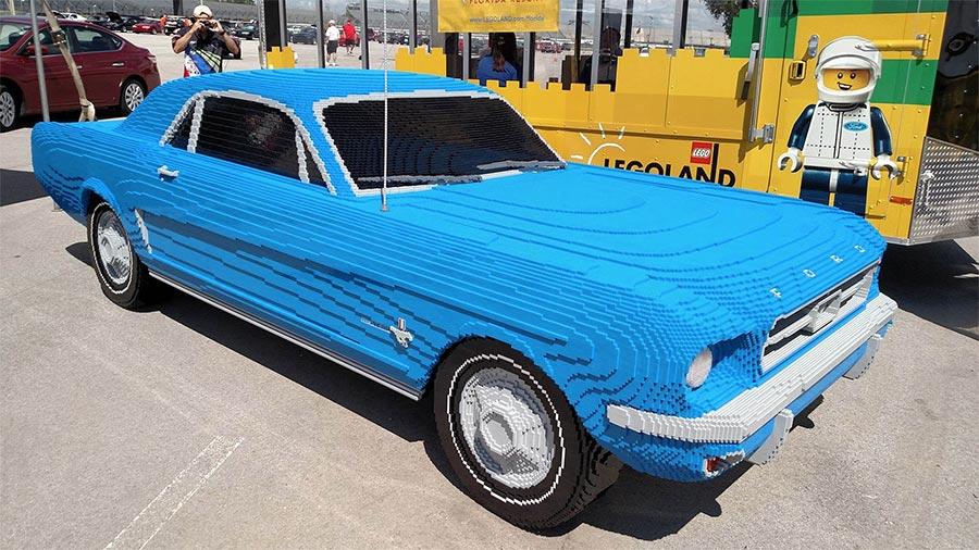 Ein Mustang aus LEGO LEGO-mustang_01