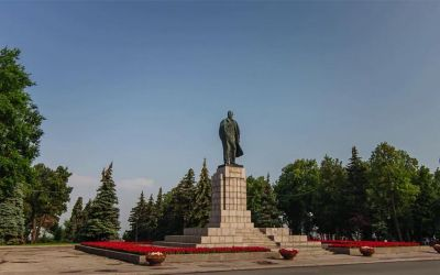 Walk in Ulyanovsk