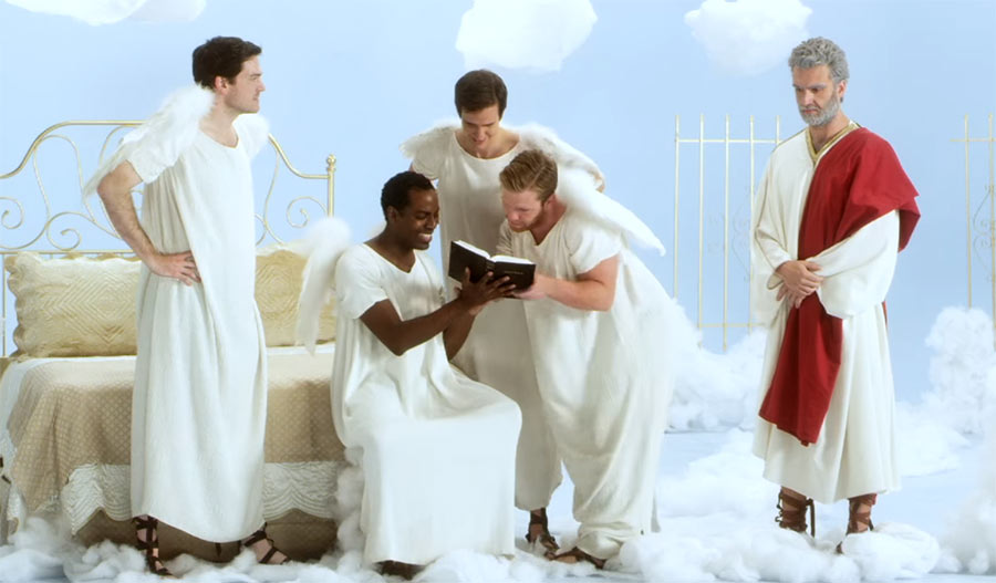 Gotts Tagebuch ist ultra-peinlich