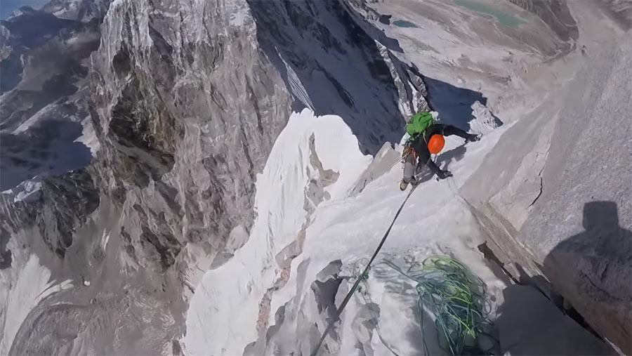 Komm, wir klettern auf 6.900 Meter! lunag-ri-climbing
