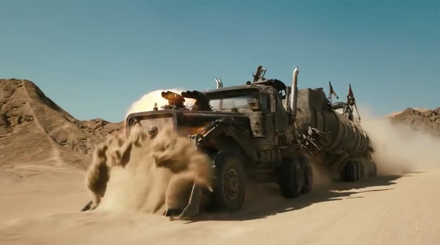 "Beeindruckendes Rohmaterial zu ""Mad Max: Fury Road"" mad-max-fury-road-making-of"