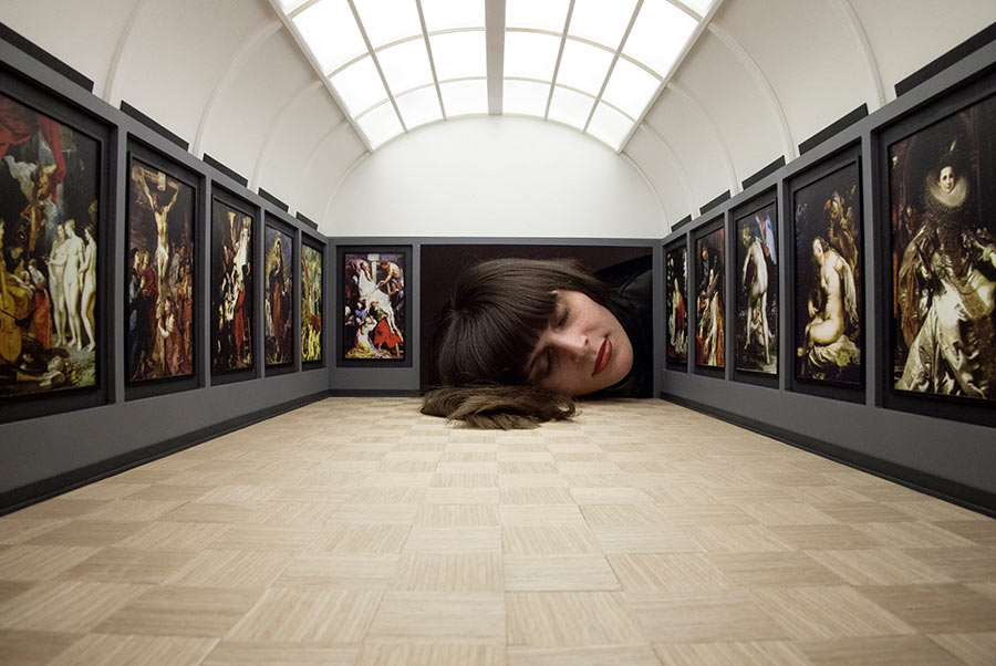 Werde riesiger Kunstliebhaber put-your-head-into-gallery_03