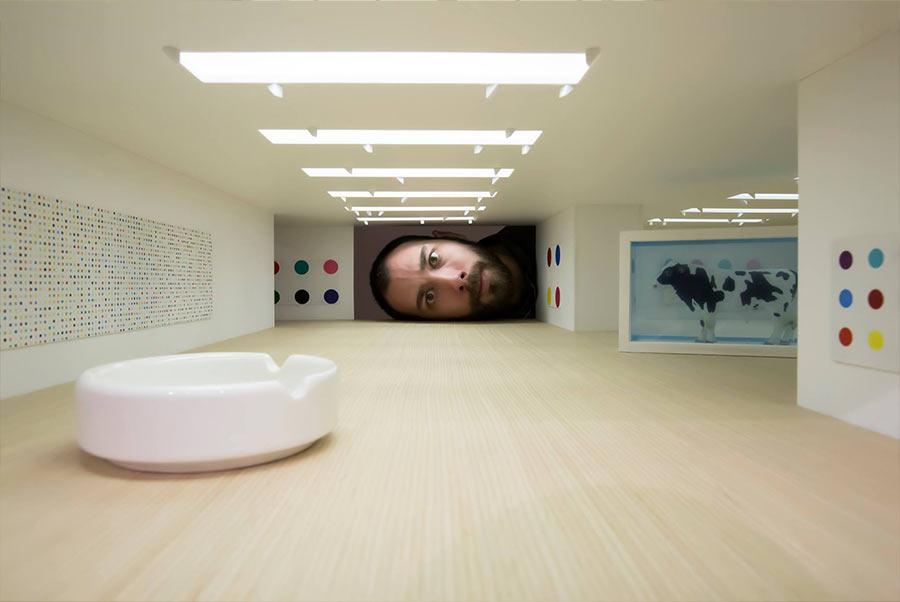 Werde riesiger Kunstliebhaber put-your-head-into-gallery_04