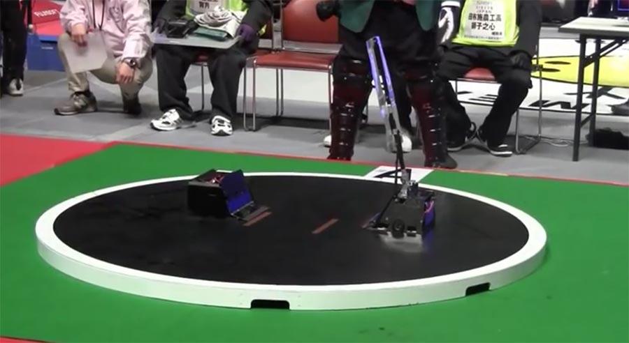 Roboter Sumo-Ringen robots-sumo-wrestling