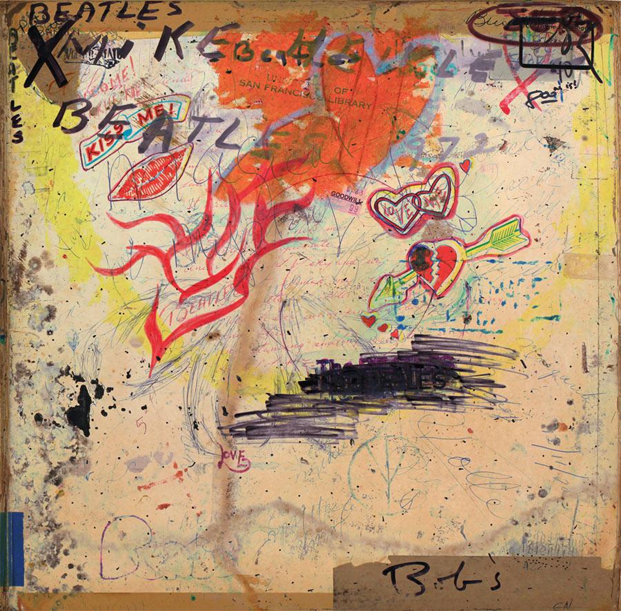 100 White Albums der Beatles übereinander gelegt 100-white-albums-beatles_01