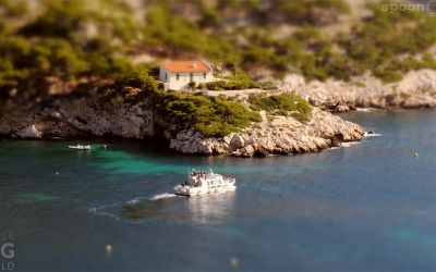 Tilt-Shift: Calanques de Marseille
