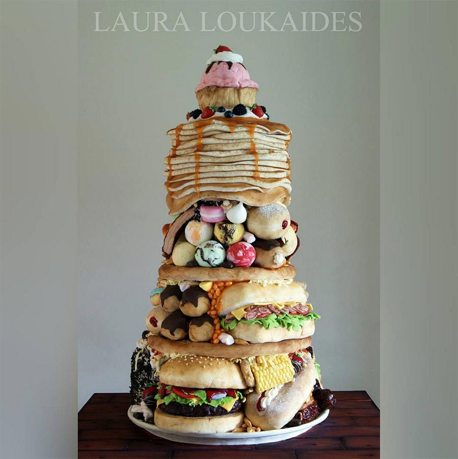 Fast Food Torten Laura-Loukaides-fast-food-cakes_02