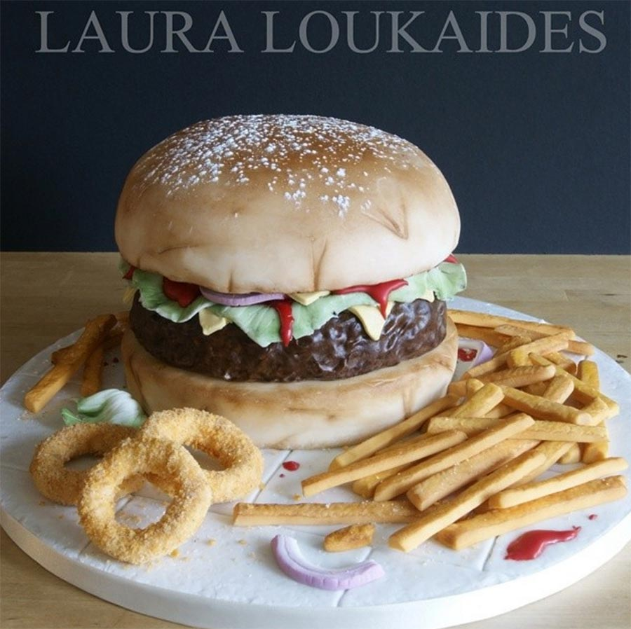 Fast Food Torten Laura-Loukaides-fast-food-cakes_07