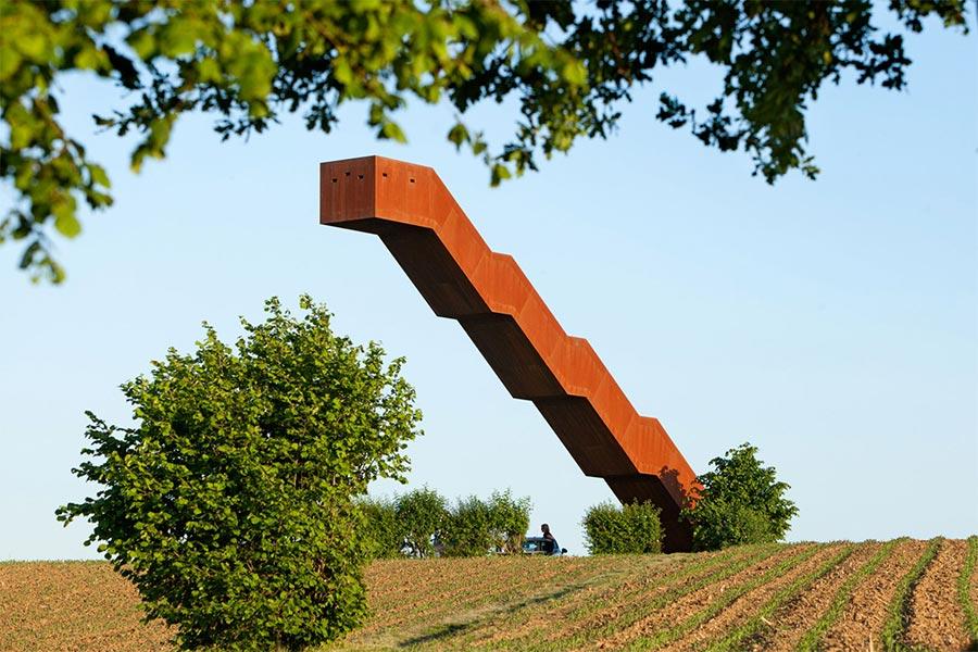Die einsame Treppe Vlooyberg-Tower_01