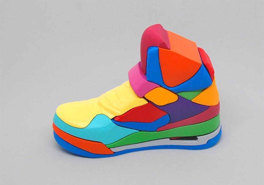 Nike Air Jordan 3D-Puzzle