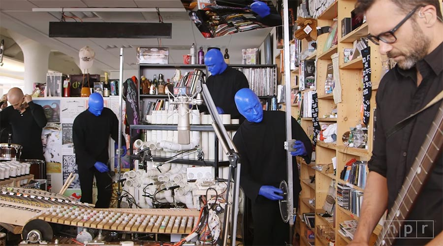 Blue Man Group: Tiny Desk Concert