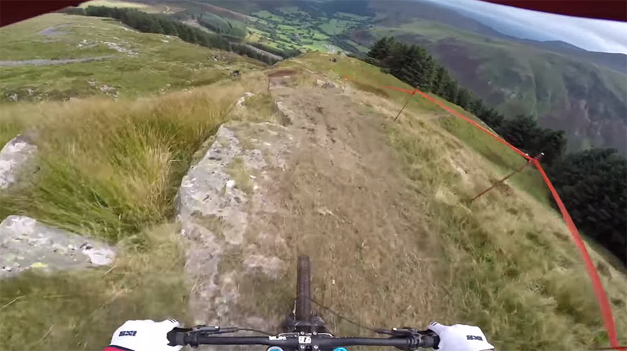 Mountainbike Downhill: Dan Atherton