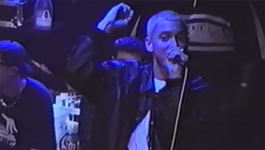 Eminem-Auftritt 1999 im Whisky a Go Go