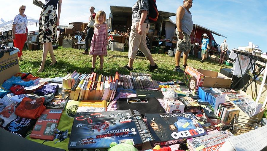 Vlog: Als Verkäufer auf dem größten Flohmarkt Bayerns