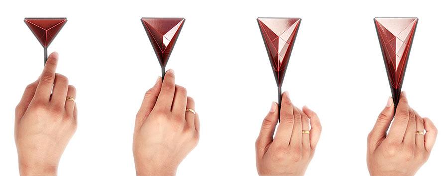 Super nützlicher Origami-Löffel polygons-kickstarter_03