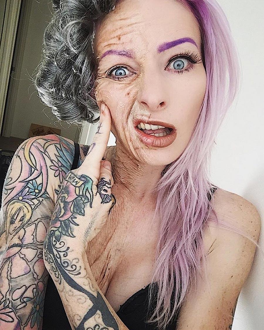 Grauenhafte Make-up-Ideen für Halloween sarah-mudle_01