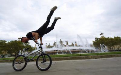 Neue BMX-Tricks von Tim Knoll