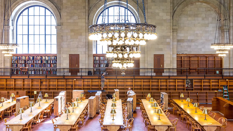 Timelapse-Befüllung der New York Library timelapse-new-york-library