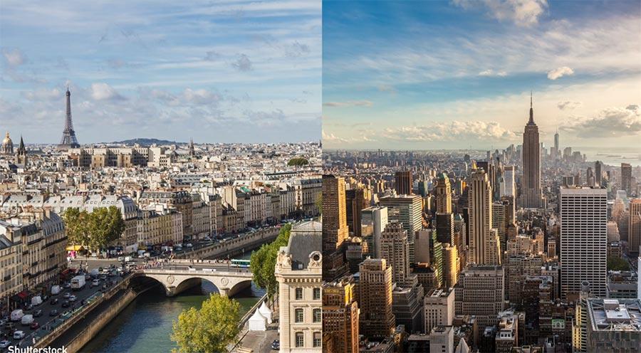 Deshalb sind US-Städte ganz anders aufgebaut als europäische us-vs-europa