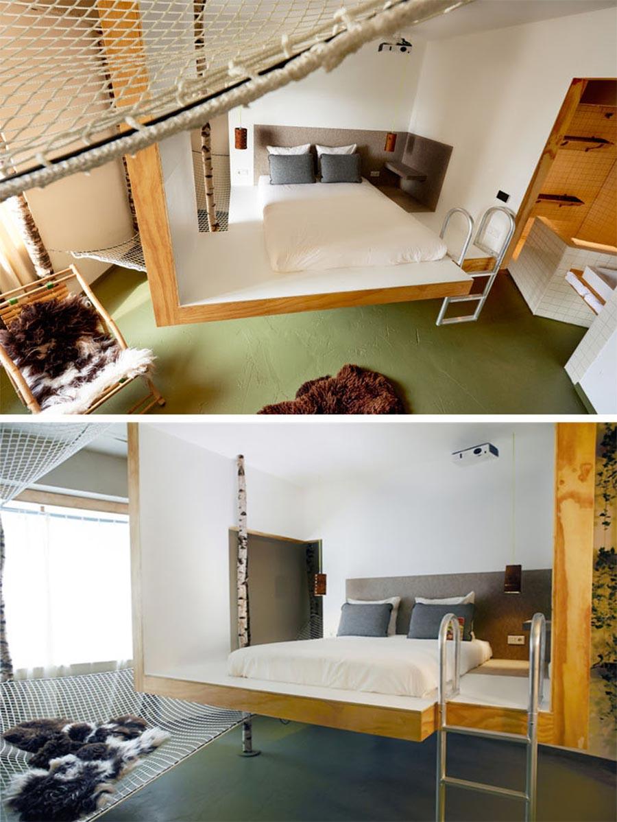 9 Designer haben je ein Zimmer in diesem Hotel erstellt volkshotel-amsterdam_03