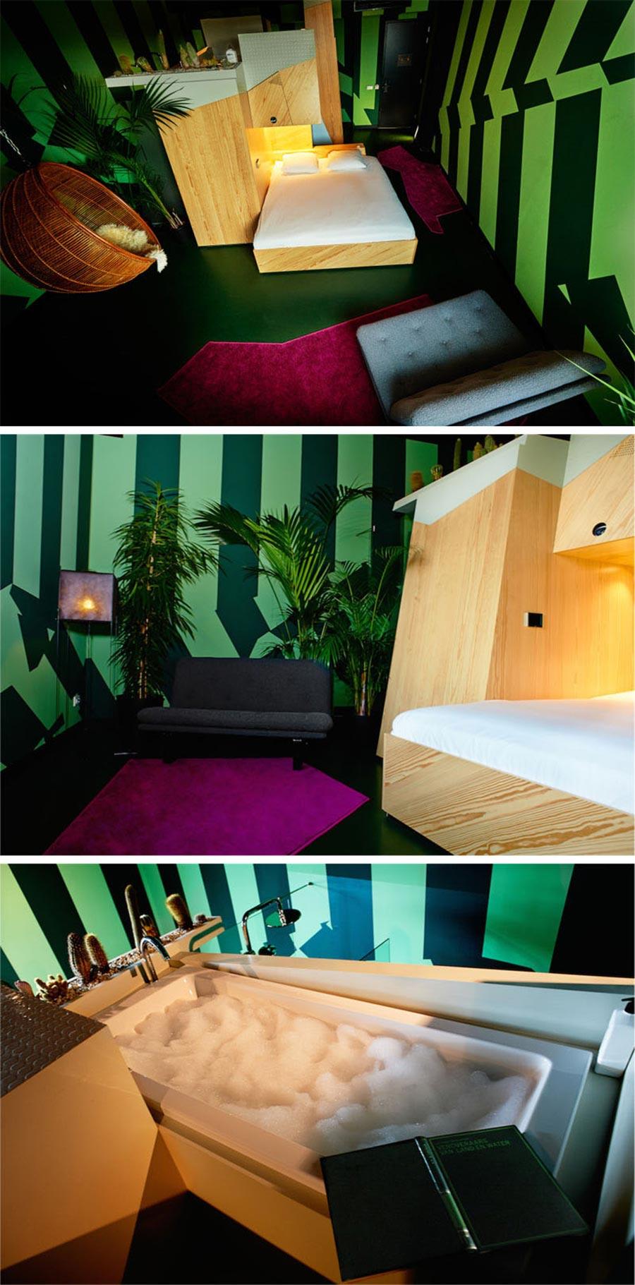 9 Designer haben je ein Zimmer in diesem Hotel erstellt volkshotel-amsterdam_05